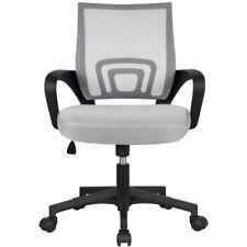 Gray Adjustable Ergonomic Mesh Swivel Computer Office Desk Task Rolling Chair Mi