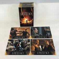 THE CHRONICLES OF RIDDICK MOVIE TRADING CARD SET Starring VIN DIESEL 2004