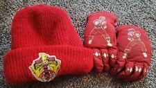 Vintage Power Rangers Winter Hat And Glove Set