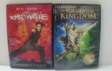Jet Li DVD lot (Romeo Must Die/The Forbidden Kingdom) DVD martial arts