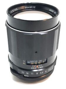 Pentax SMC Takumar 135mm f/2.5 M42 Lens *RARE 6 APERTURE VERSION* (NJL021058)
