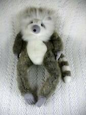 "Manhattan Toy Company Gray & White Ring Tailed LEMUR Plush Monkey 16""  Nice"
