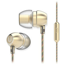3,5mm Intra-Auriculaires Ecouteurs Métal Bass + Microphone Uiisii HM7 / GD