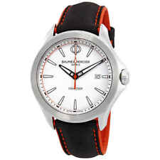 Baume et Mercier Clifton White Dial Men's Watch 10410
