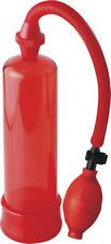 pompa per pene Pipedream Beginner's Power Pump - rosso