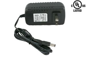 UL LISTED 24V 1A 24W power supply AC Adapter LED driver Class 2 LEDupdates