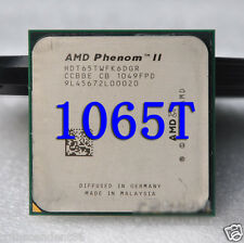 Free Shipping Original AMD Phenom II X6 1065T CPU/HDT65TWFK6DGR/AM3/2.9G/95W