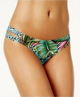 Sundazed 143672 Womens Floral Strappy Swim Hipster Bottom Multicolor Size Large