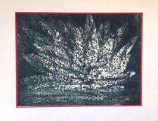 René BORY,actif XXème.Reflets.Eau-forte à l'aquatinte.29x39.SBD.Circa 1980.65x50
