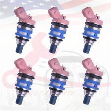 New 6Pcs  Fuel Injectors 1660021V02 1660085E06 For Nissan Maxima 3.0 1660085E06