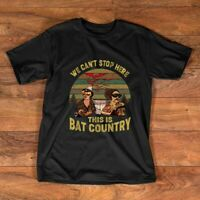 We Can't Stop Here This is Bat Country Vintage T-Shirt |Fear and Loathing in La