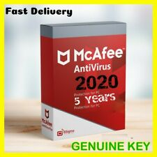 McAfee TOTAL PROTECTION 2020🔥5 YEARS🔥1 Device Mac/Windows/Android🔥key🔑