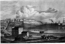 Grafik,Stahlstich,Gesamtansicht von Odessa, Bibliogr. Institut, 1837