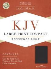KJV Pocket Size Holy Bible Large Print Black Bonded Leather