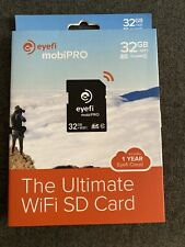 NEW Eye-Fi Mobi PRO 32GB WiFi SDHC CARD EyeFi SD Card  Wi-Fi CLASS 10