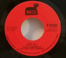 Paul Humphrey & His Cool Aid Chemists Lizard 21006 COOL AID(SOUL 45) PLAYS GREAT