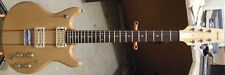 1980 Vantage VS-650 Matsumoku Natural Finish Double Cutaway Electric Guitar