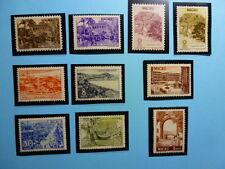 LOT 5271 TIMBRES STAMP VUES DE MACAO  MACAU ANNEE 1948 A 1951