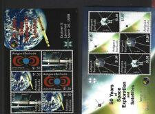 Antigua sc#3013-14 (2008) Sheets of 2 Strips MNH