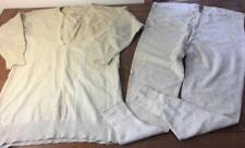 Antique Vtg Glastenbury Knitting Co. 2 Pc Union Suit Mens Long Underwear Wool