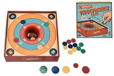 Traditional Tiddlywinks Game 4 Players Classic Family Retro Skill Tiddly Game