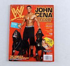John Cena February 2007 Wrestling Magazine Raw WWE WWF Edge Benoit Mania Diva