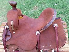 """14"""" Spur Saddlery Youth Ranch Roping Saddle (Made in Texas)"""