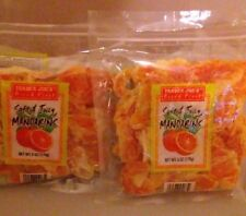 2 Pack Trader Joe's Soft And Juicy Mandarins Dried Fruit 6 OZ. Each