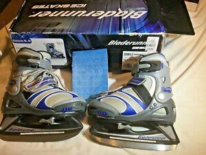Road Runner Zoom youth adjustable  hockey ice size US 11-1 cm 17.5-20.5 Eu 28-32