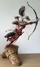 Assassini CREED origini-L'ALBA DELL' CREED leggendario STATUA bayek + senu figura
