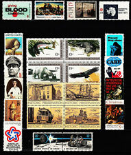 1971 Commemorative Year set   (23 Stamps) - MNH