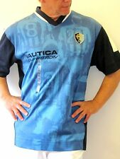 Nautica Competition Soccer, Flame Blue Jersey, NWT Mens Size XXL