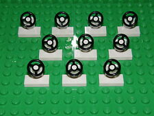 LEGO 10 x WHITE CONSOLE WITH STEERING WHEEL  3829