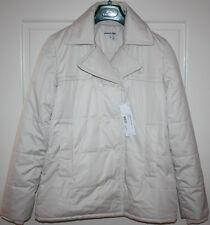 NWT Women's White LACOSTE Jacket/Coat Size EU 40, US 8