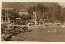 Carte PHoto à identifier Semble Lac Montagne Plage Savoie ? Haute Savoie ?