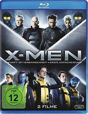 X-MEN: ZUKUNFT IST VERGANGENHEIT + ERSTE ENTSCHEIDUNG (2 Blu-ray Discs) NEU+OVP