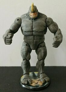 MARVEL LEGENDS SPIDER-MAN FEARSOME FOES  RHINO  WITH STAND  MARVEL 2006