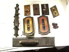 East Lake Door Handle Plus Other Bronze Pieces Also Buzzers Plates (10 Items)