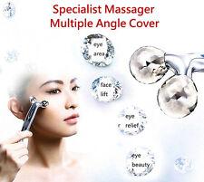 Japan 3D Eye Massager Dual Diamond Roller Face Massager Ball Roller Massager