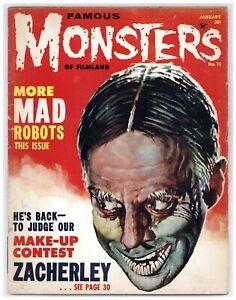 Famous Monsters of Filmland 15 Zacherley! Basil Gogos cover 1962 Warren A492