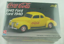 1940 Ford Coca-Cola 1:25 Plastic Model Kit by AMT Level 2 AMTH823-10DO