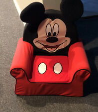 Comfortable Foam Furniture Toddler Chair Kids Disney's Classic Mickey Mouse
