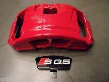 original Audi SQ5 Bremssattel für 380x36 mm 8R0615124A original Audi SQ5 in Rot