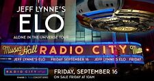 """JEFF LYNNE'S ELECTRIC LIGHT ORCHESTRA """"UNIVERSE TOUR"""" 2016 CONCERT POSTER/BANNER"""