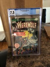Werewolf By Night #33, CGC VF- 7.5, 2nd Appearance Moon Knight