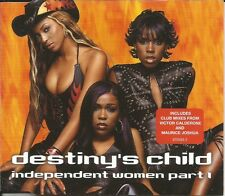 Beyonce DESTINY'S CHILD Independent Women 2 REMIXES CD Single SEALED USA Seller