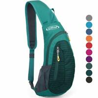 Mens Ultralight Sling Chest Bag Sport Cycling Travel Shoulder Crossbody Backpack