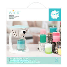 American Crafts We R Memory Keepers Wick Candle Maker Machine Kit - 14 Pieces