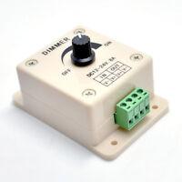 Brightness PWM Switch Controller Dimmer for LED Strip Light 12V to 24V 8A 96W