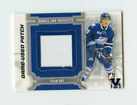 ITG FINAL VAULT 13/14 HEROES & PROSPECTS GAME-USED PATCH SEAN DAY 1/1 *67164